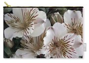 White Tiger Azalea Carry-all Pouch