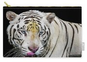 White Tiger Closeup Carry-all Pouch