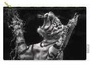 White Tiger Featured In Greece Exhibition Carry-all Pouch