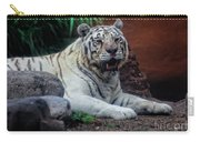 White Tiger Gladys Porter Zoo Texas Carry-all Pouch