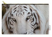White Tiger Portrait Carry-all Pouch