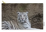 White Tiger Resting Carry-all Pouch