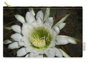 White Torch Cactus  Carry-all Pouch