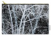 White Tree Black Night Carry-all Pouch