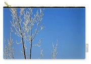 White Tree Blue Sky Carry-all Pouch
