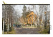 White Trees And Honka Carry-all Pouch