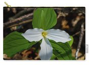 White Trillium 2 Carry-all Pouch