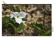 White Trillium Carry-all Pouch