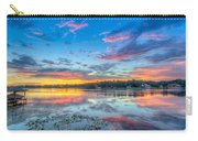 White Trout Lake Sunset - Tampa, Florida  Carry-all Pouch