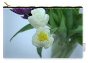 White Tulip Duo Carry-all Pouch