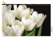 White Tulips 1 Carry-all Pouch