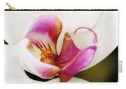 White Veil Orchid Carry-all Pouch