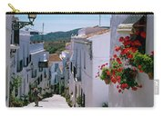 White Village Of Frigiliana Andalucia., Spain Carry-all Pouch