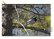 White Wagtail 2 Carry-all Pouch