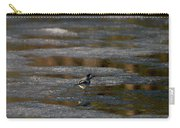 White Wagtail 4 Carry-all Pouch