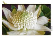 White Waratah Carry-all Pouch