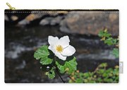 White Wild Rose In Big Thompson Canyon Carry-all Pouch