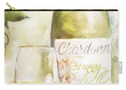 White Wine Watercolor Carry-all Pouch