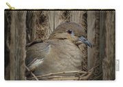 White-winged Dove - Nesting Carry-all Pouch
