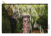 White Wisteria Carry-all Pouch