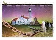 Whitefish Point Lighthouse   Northern Lights -0524 Carry-all Pouch