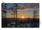 Whitefish Sunset Carry-all Pouch