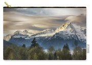 Whitehorse Sunrise, Flowing Clouds Carry-all Pouch