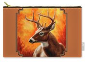 Whitetail Buck Portrait Carry-all Pouch