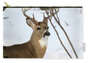 Whitetail Buck Profile Carry-all Pouch