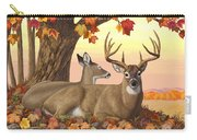 Whitetail Deer - Hilltop Retreat Carry-all Pouch by Crista Forest