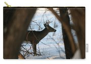 Whitetail Deer Threw The Trees Carry-all Pouch