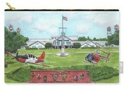 Whiting Field Welcome Sign Carry-all Pouch by Betsy Hackett