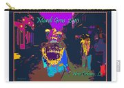 Who Dat At Night In The Quarter Carry-all Pouch