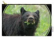Who Said Vegans Are Not Strong Carry-all Pouch by Dan Friend