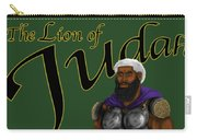 Who Shall Rouse Judah-yellow Trim Carry-all Pouch