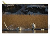 Whooper Swan Nr 12  Carry-all Pouch