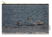 Whooper Swan Nr 2 Carry-all Pouch