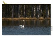 Whooper Swan Of Liesilampi 3 Carry-all Pouch
