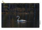 Whooper Swan Of Liesilampi 5 Carry-all Pouch