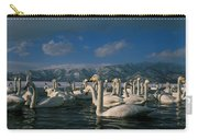Whooper Swans In Winter Carry-all Pouch