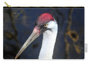 Whooping Crane Mug Shot Carry-all Pouch