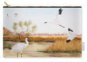 Whooping Cranes-jp3151 Carry-all Pouch