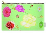 Whoosh Of Flowers Carry-all Pouch