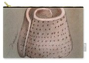 Whorl - Shell With Polka Dot Pattern - Sketch Carry-all Pouch