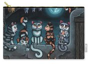 Whos Your Daddy Cat Painting Carry-all Pouch