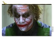 Why So Serious Carry-all Pouch by Paul Tagliamonte