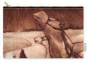 Why Would Wisemen Follow A Star? Carry-all Pouch by Linda Anderson