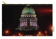 Wi State Capitol From West Washington Ave Carry-all Pouch