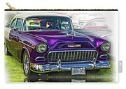 Wicked 1955 Chevy - Reflection Carry-all Pouch