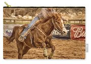 Wickenburg Senior Pro Rodeo Barrel Racing Carry-all Pouch